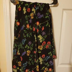 Flowered Torrid Skirt
